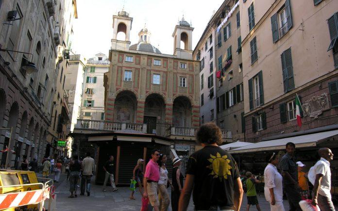 Genova Via Del Campo