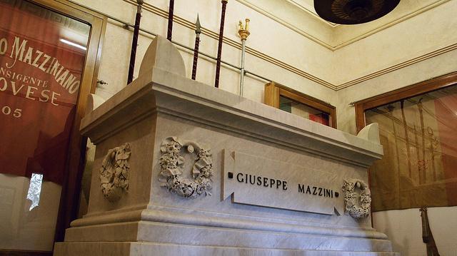 Genova Staglieno Mazzini