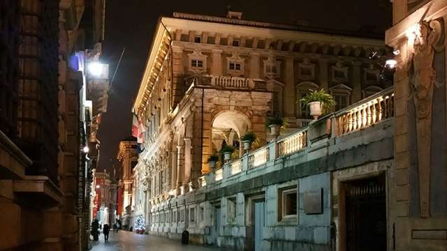 Genova Via Garibaldi
