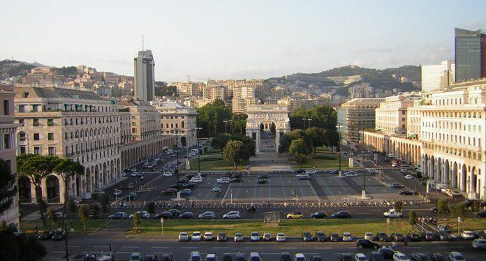 Genova Piazza della Vittoria