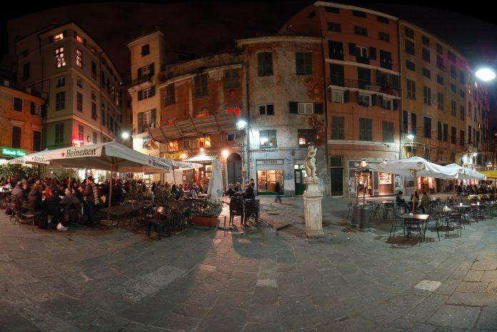 Genova Piazza delle Erbe