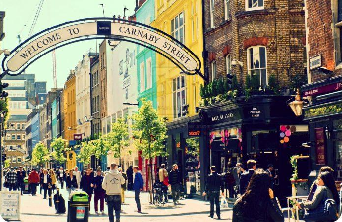 Londra Carnaby Street
