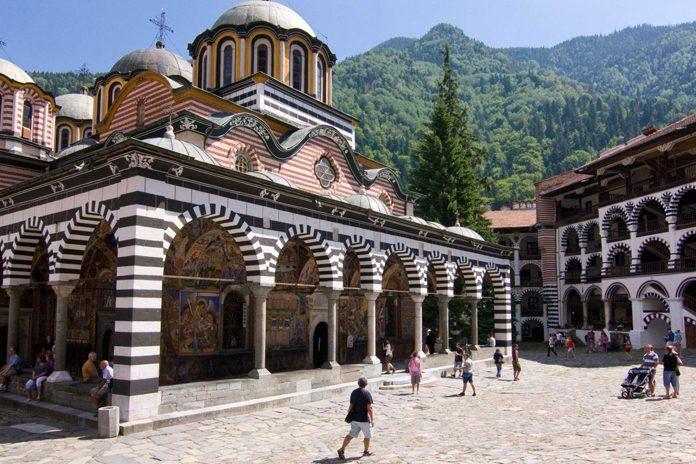 Monastero ortodosso Rila Bulgaria