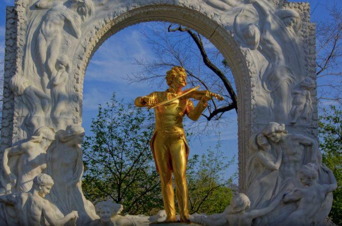 Monumento Strauss Vienna cosa vedere