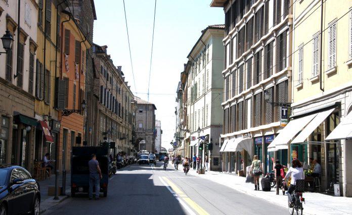 Parma Strada della Repubblica