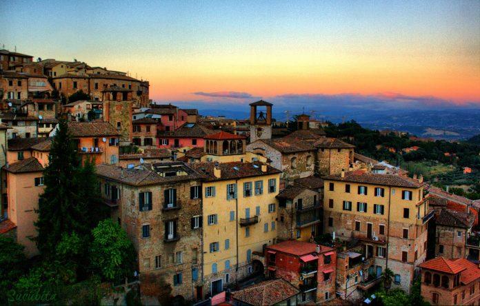 Perugia veduta