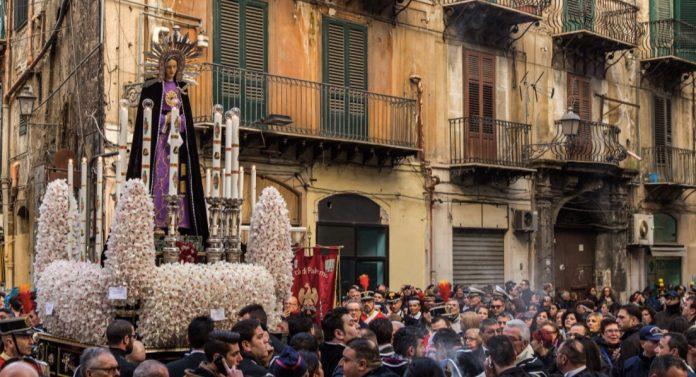 Processione Palermo cosa vedere