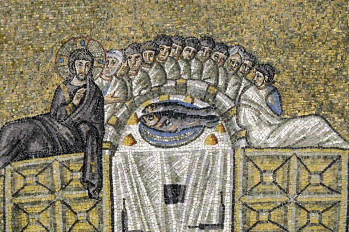 Ravenna Sant'Apollinare Nuovo - Ultima Cena