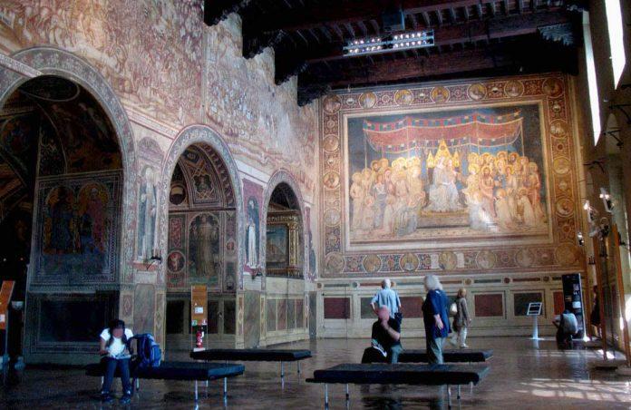 Siena Museo Civico e la Sala del Mappamondo