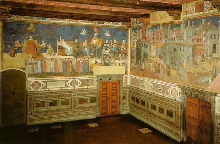 Sala Del Consiglio Dei Nove Siena.Siena Foto 05 La Sala Dei Nove E Del Buon Governo Luoghi