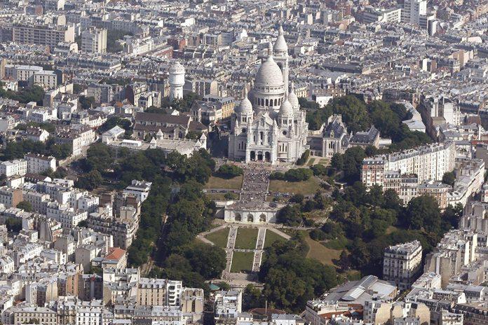 Parigi Montmartre Sacre-Coer