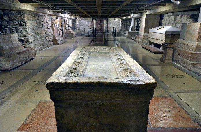 Trento basilica paleocristiana