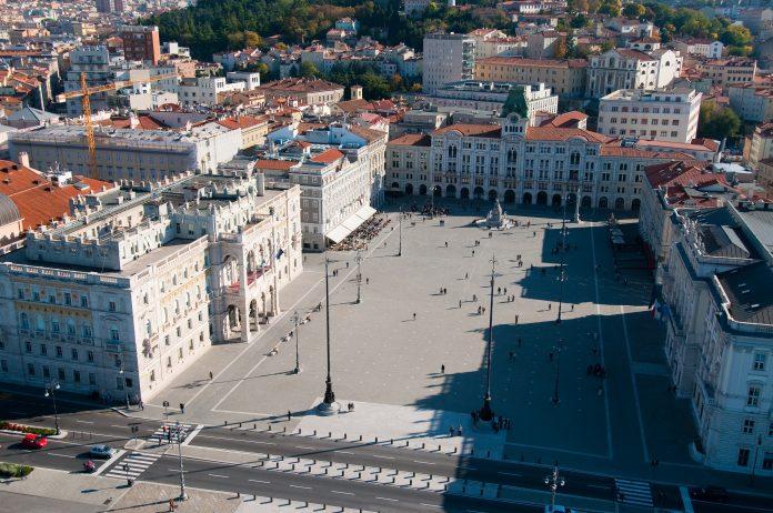 Trieste Piazza Unità d'Italia