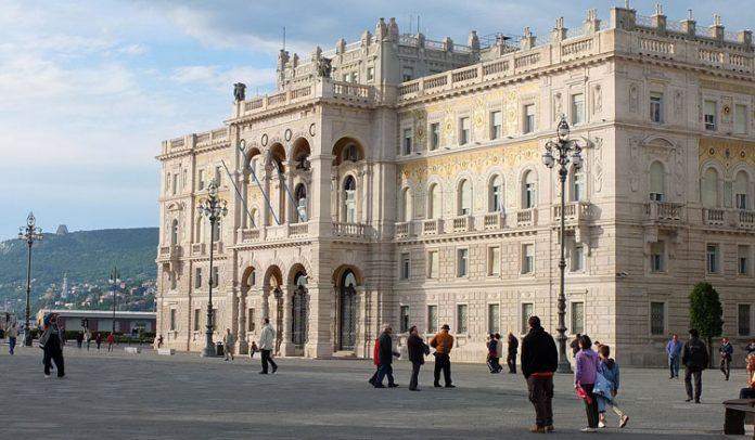 Trieste Palazzo del Governo