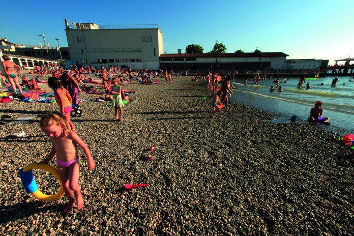 Trieste Spiaggia Pedocin