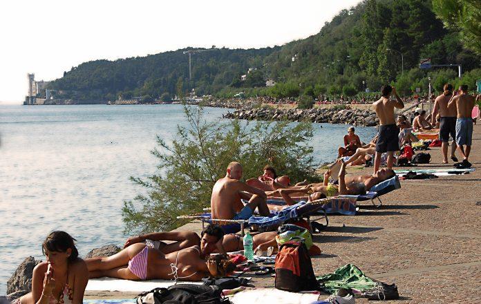 Trieste Barcola Miramare